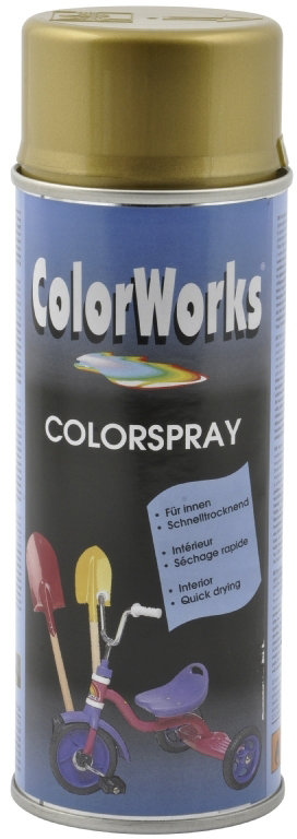ColorWorks hobbyspray, guld