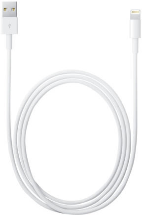 Apple Lightning til USB kabel, 2 m