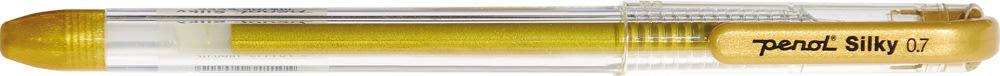 Penol Silky metallic gelpen, guld