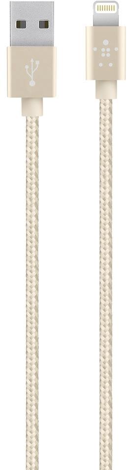 Belkin Premium Lightning USB-kabel, guld