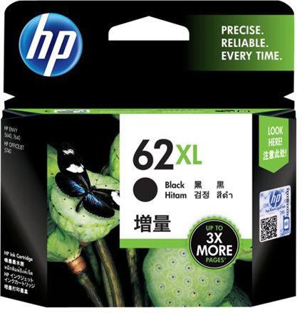 HP nr.62XL/C2P05AE blækpatron, sort, 600 s