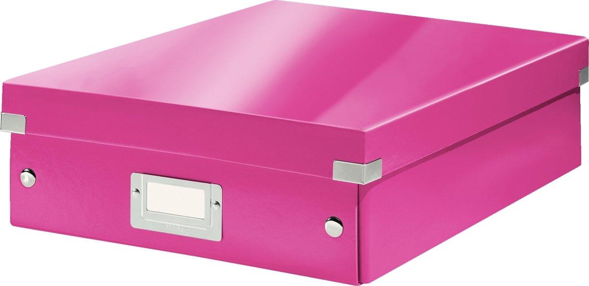 Leitz Click & Store Organizer boks medium, pink