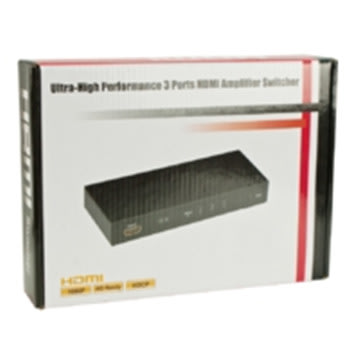 MicroConnect HDMI Switch 3 til 1