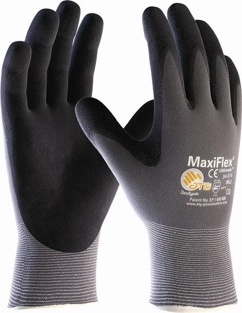 MaxiFlex Ultimate arbejdshandske - Str. 9 (L)