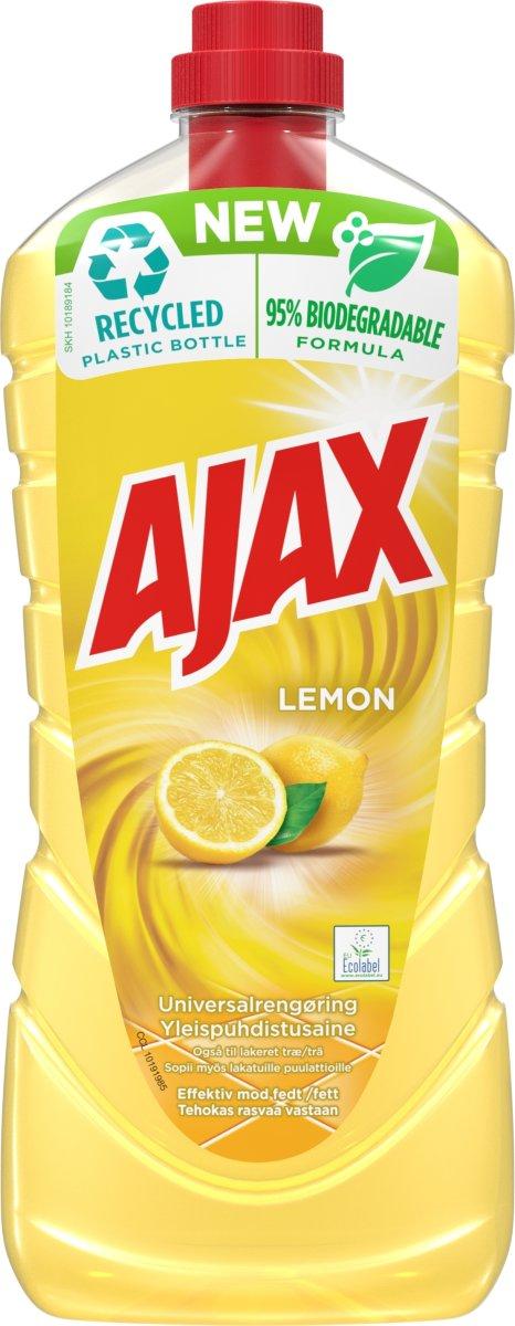 Ajax Lemon universalrengøring, 1250 ml