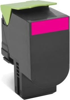 Lexmark 80C2SME lasertoner, rød, 2000s