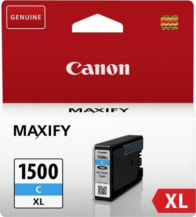 Canon PGI-1500XL, cyan, 935s.
