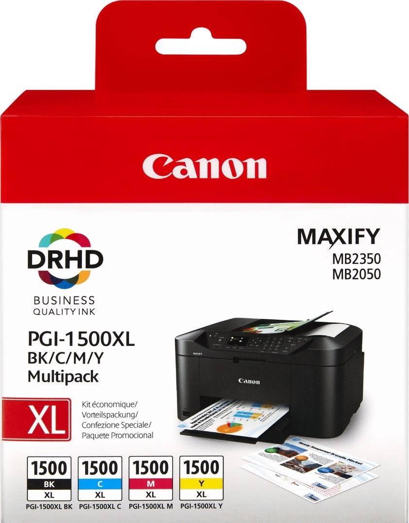 Canon PGI-1500XL C/M/Y/BK sampak