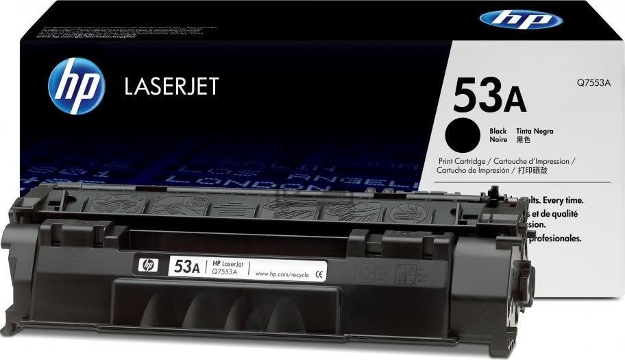 HP nr.53A/Q7553A lasertoner, sort, 3000s