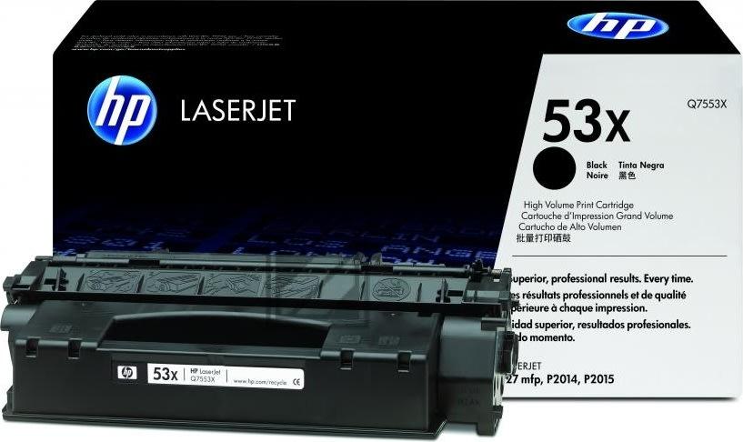 HP nr.53X/Q7553X lasertoner, sort, 7000s