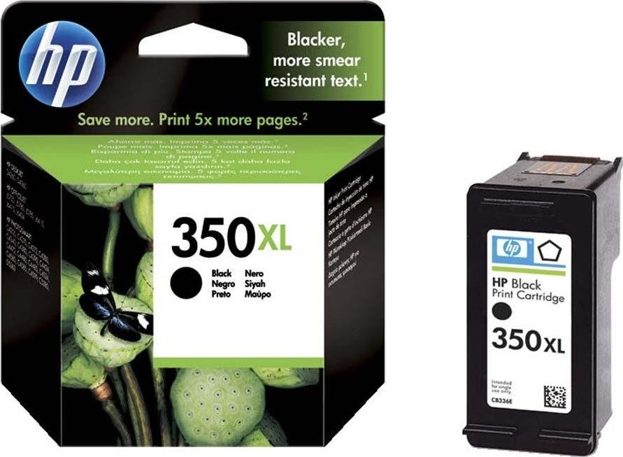 HP nr.350XL/CB336EE blækpatron, sort, 1000s