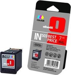 Olivetti IN-503 /B0509 Color Blækpatron, 7ml