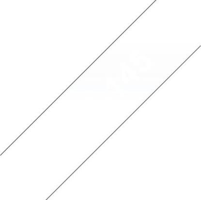 Brother TZe-145 labeltape 18mm, hvid på klar