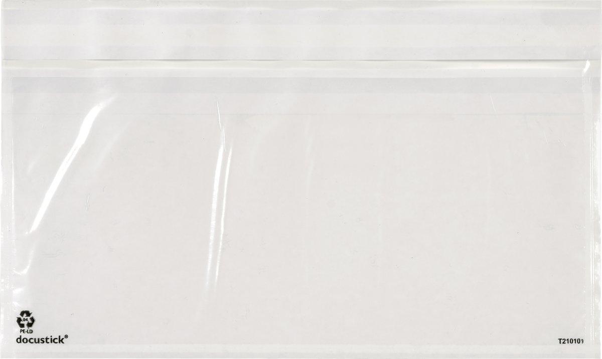 Følgeseddelslomme uden tryk, C65, 1000 stk.