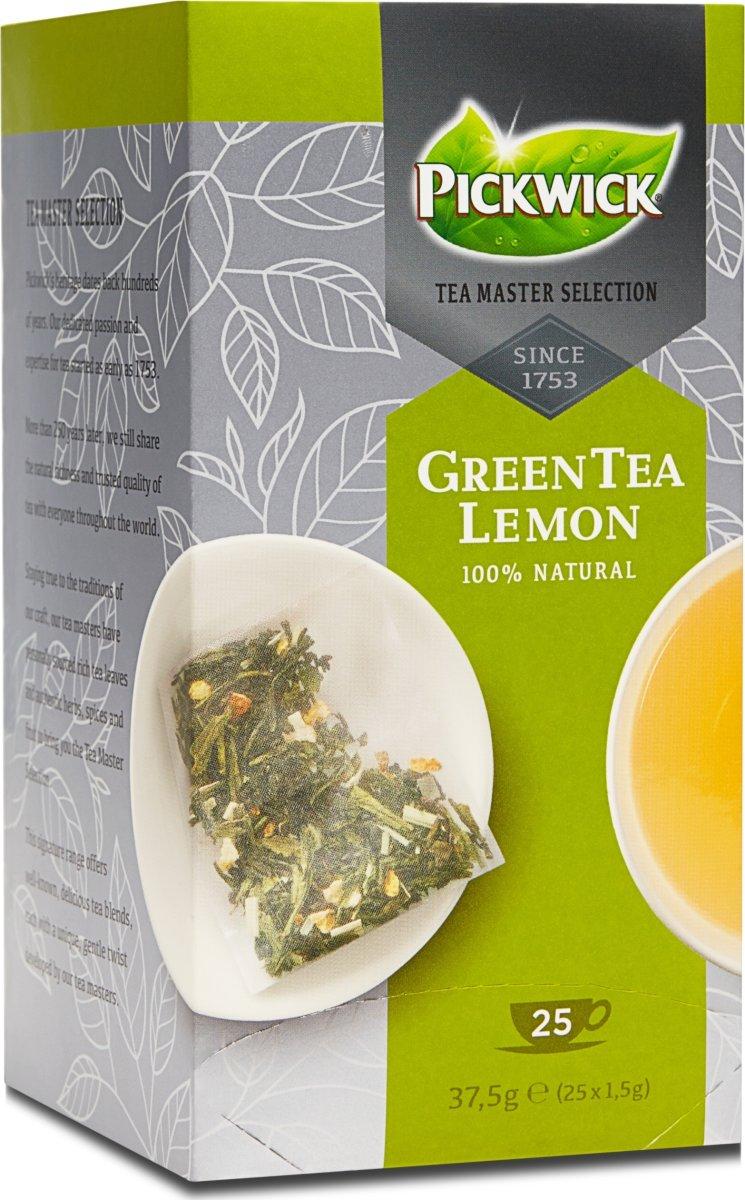 Pickwick Master Selection Green Tea Lemon 25 stk.