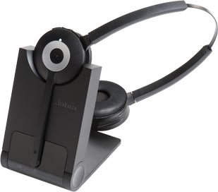 Jabra Pro 930 Duo, trådløst headset
