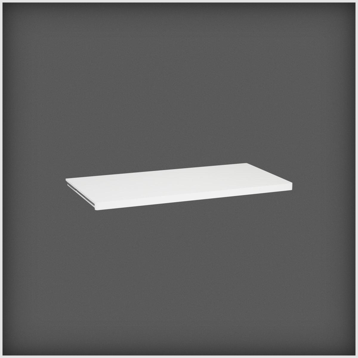 Elfa Décor hylde 40, længde 900 mm, hvid