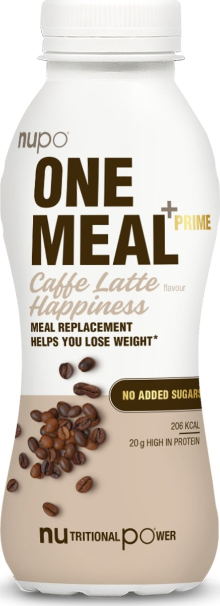 Nupo One Meal Shake caffe latté, 330 ml