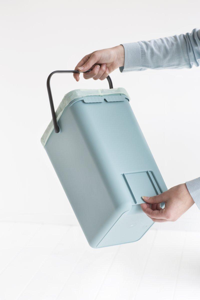 Brabantia Sort&Go Sorteringsspand 12 liter, mint