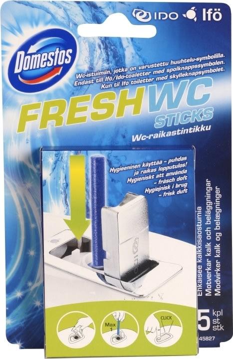 Avanceret Closan Fresh WC sticks, 5stk - køb til en god pris her - Lomax A/S SM88
