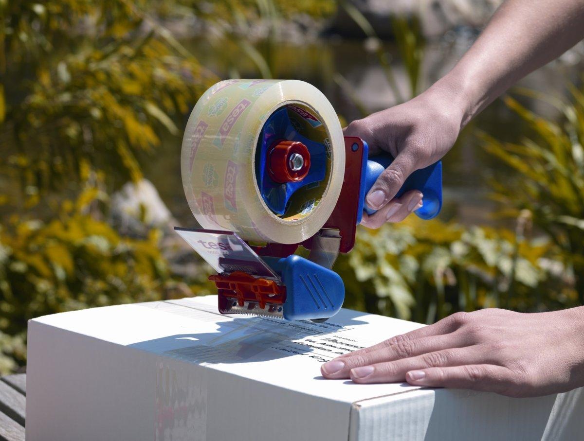 tesa ecoLogo Pakketape, 50 mm, PP, klar