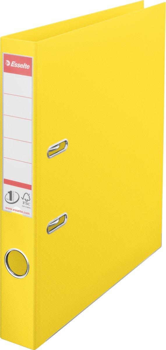 Esselte No.1 Vivida brevordner PP A4, 50 mm, gul