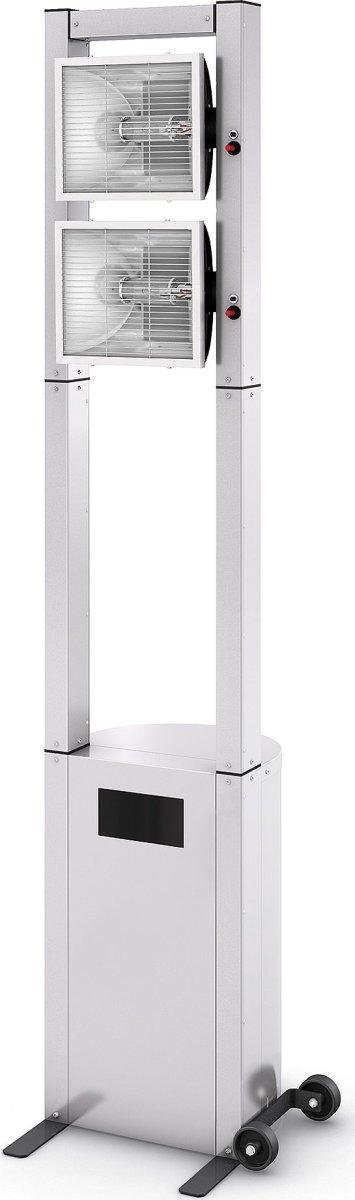 """Terrassevarmer """"ECOLINE""""4 kW, H:210 cm"""