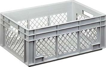 Lagerkasse perforeret 50 lit,(LxBxH) 60x40x23,6 cm