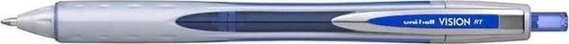 Uni-ball Vision RT rollerpen, m. klik, fine, blå