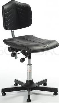 Premium arbejdsstol, glat søjle, 46-59 cm