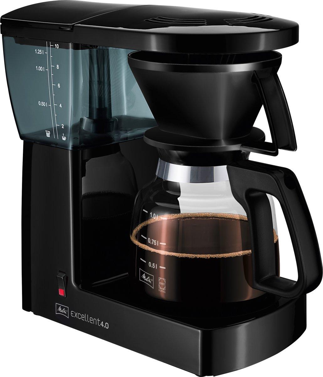 Melitta Excellent 4.0 kaffemaskine, sort