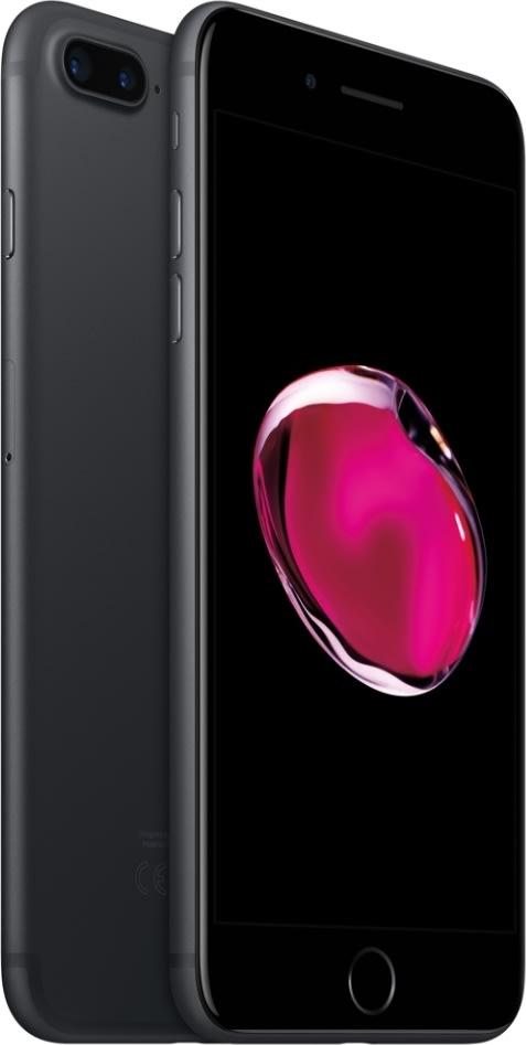 Apple iPhone 7 Plus, 32GB, Sort