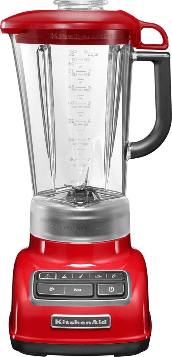 KitchenAid Diamond Blender, 1,75l, Rød
