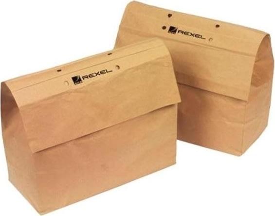 Rexel 2102505 genbrugsmakulatorposer 32L, 50 stk