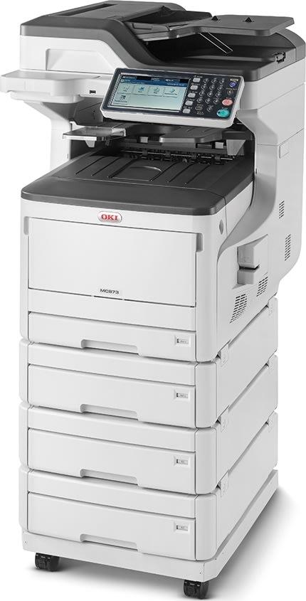 OKI Imprimante MC873dnv 4-i-1 MFP