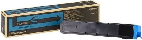 Kyocera TK-8305C lasertoner, blå, 15000s