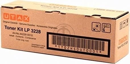 Utax 4422810010 lasertoner, sort, 7200s