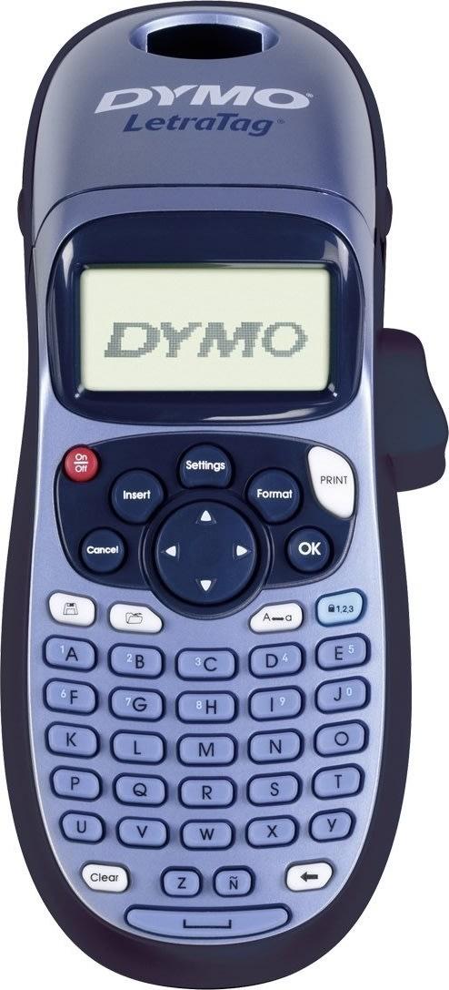 Dymo LetraTag 100H labelmaskine + 1 tape