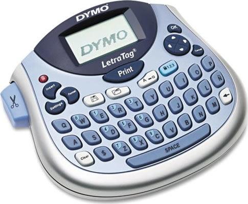 Dymo LetraTag 100T labelmaskine + 1 tape