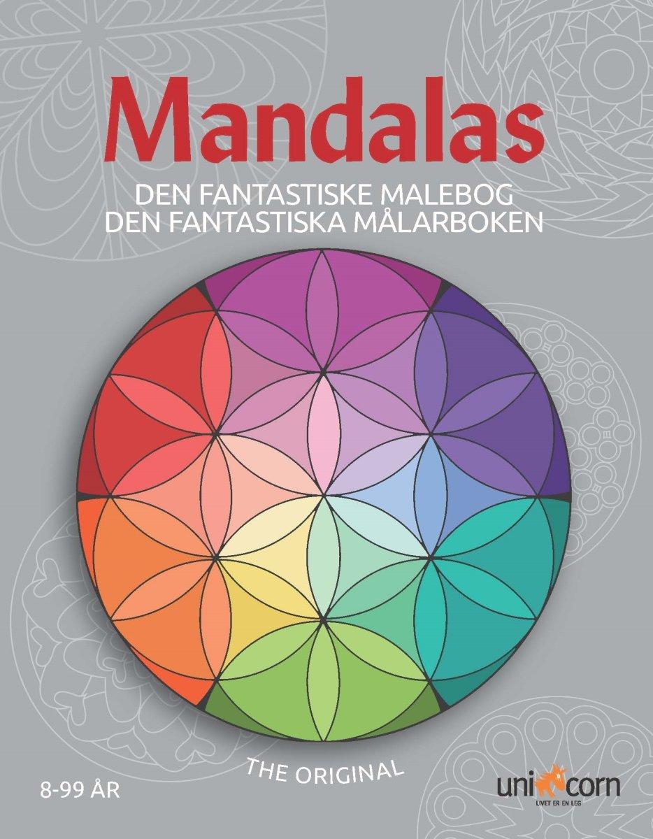 Mandalas malebog Den fantastiske, fra 8 år