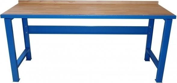 Güde filebænk 2,0 m, 40 mm bordplade, Blå