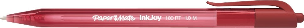 Papermate Inkjoy 100 RT, 1,0 mm, rød