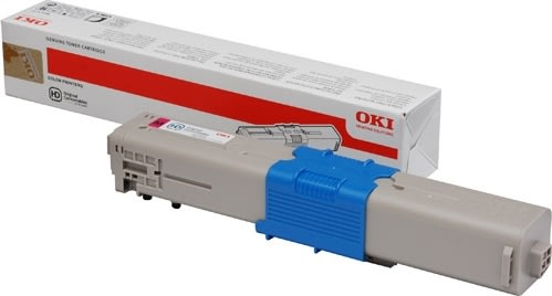 OKI 46490402 Lasertoner, rød, 1500s.