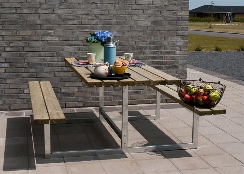 Plus Basic bord-bænkesæt, Natur