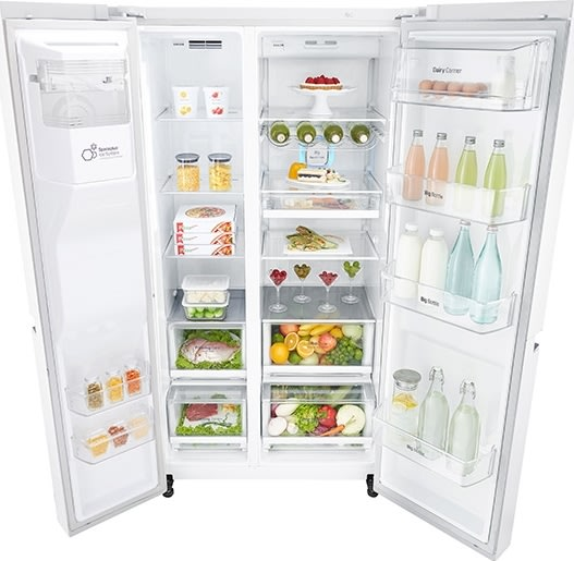 LG GSL760SWXV Amerikanerkøleskab