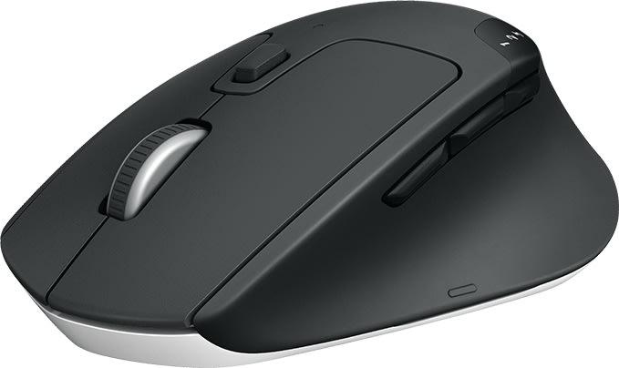 Logitech M720 Triathlon trådløs mus, sort