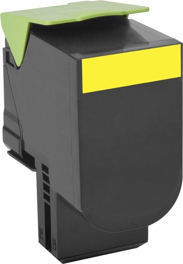 Lexmark 70C0H40 Lasertoner, gul, 3000s
