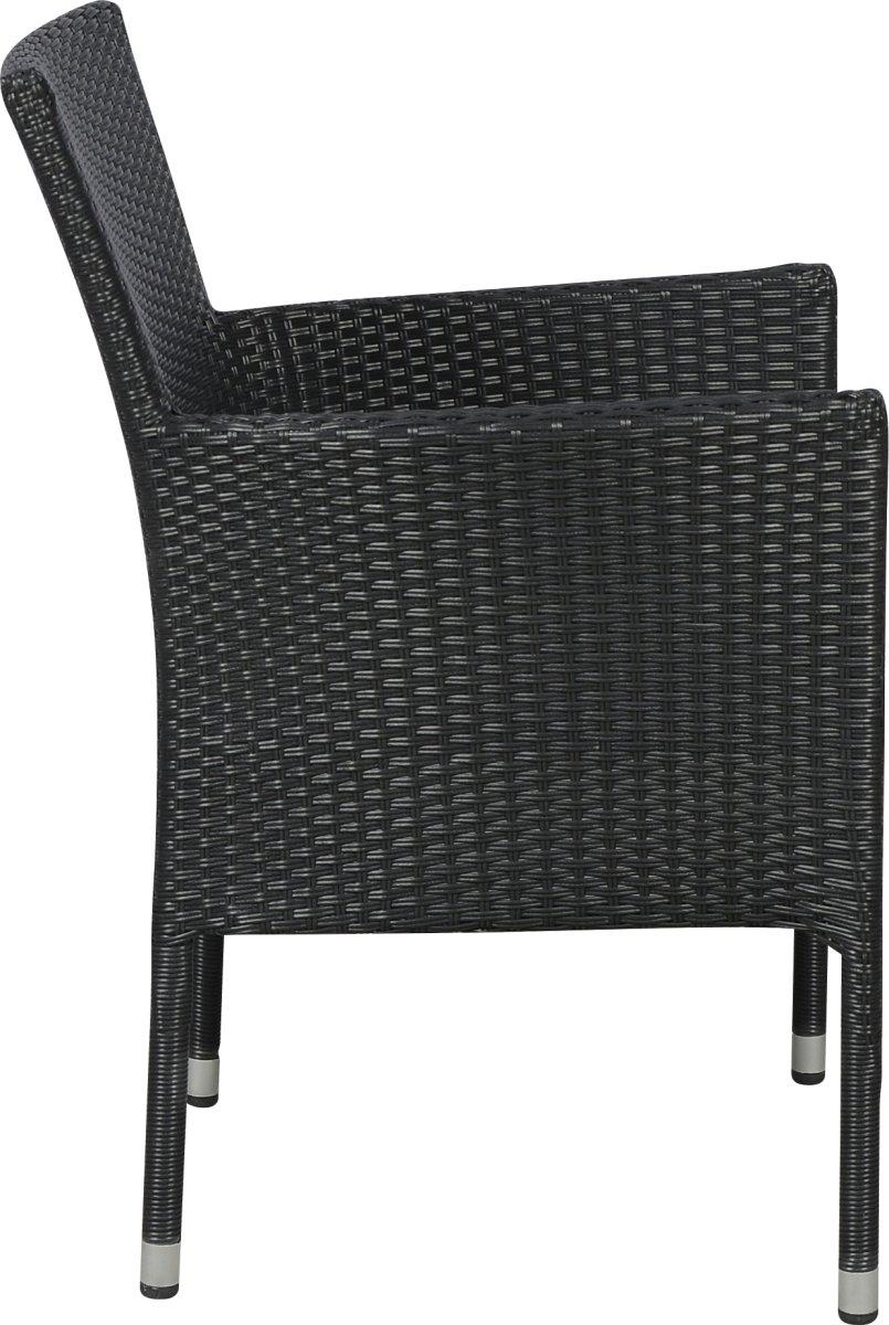 Milano havemøbelsæt til 6 pers. - luksusstole