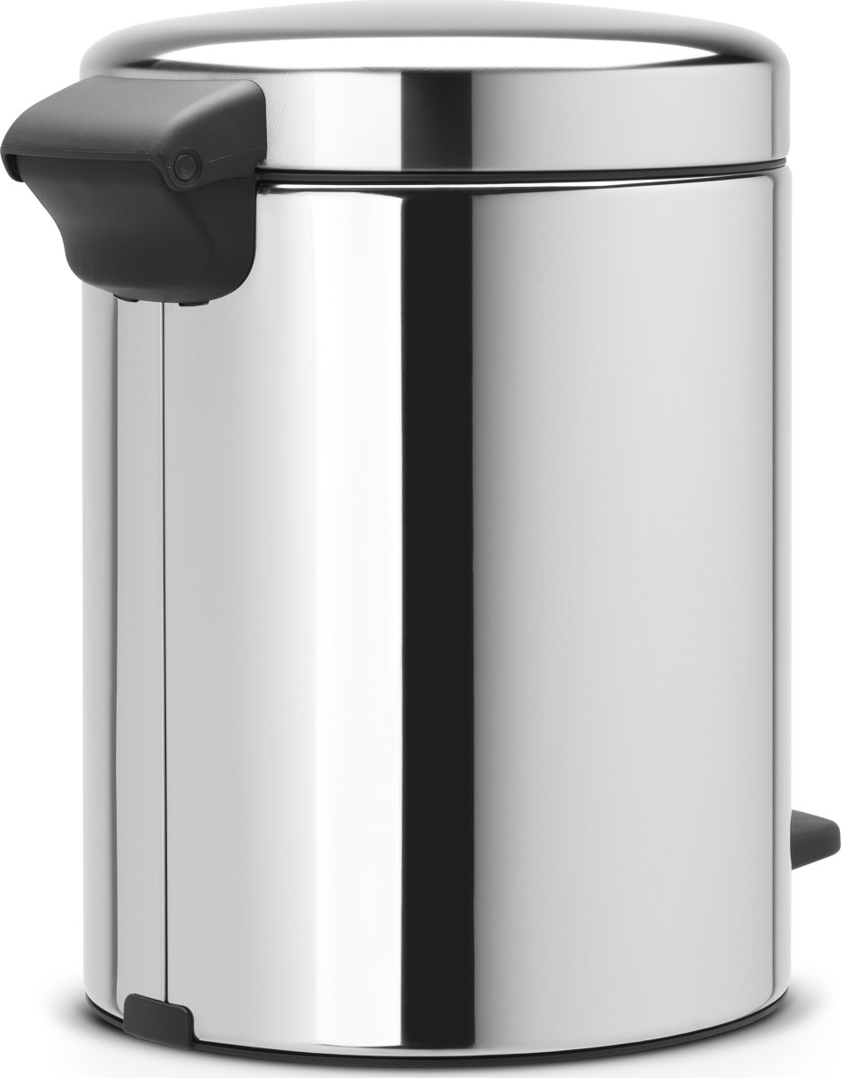 Brabantia Pedalspand, 5 L, brilliant steel