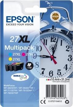 Epson 27XL blækpatron, 3-farver, 1100 s.